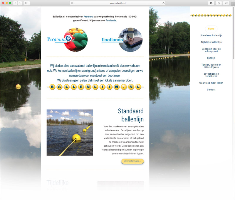 website-ballenlijn